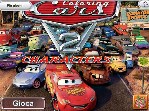 cars 2 coloring pages games - photo#49