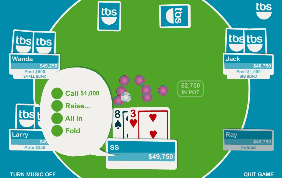 texas holdem flash game